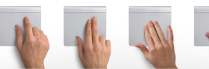 Mac 触摸盘手势